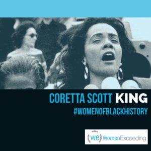 Women of Black History: Coretta Scott King
