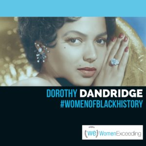 Women of Black History: Dorothy Dandridge