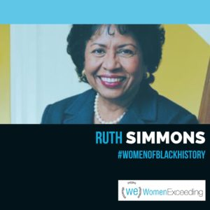 Women of Black History: Ruth Simmons