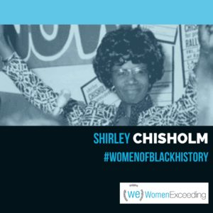 Women of Black History: Shirley Chisholm