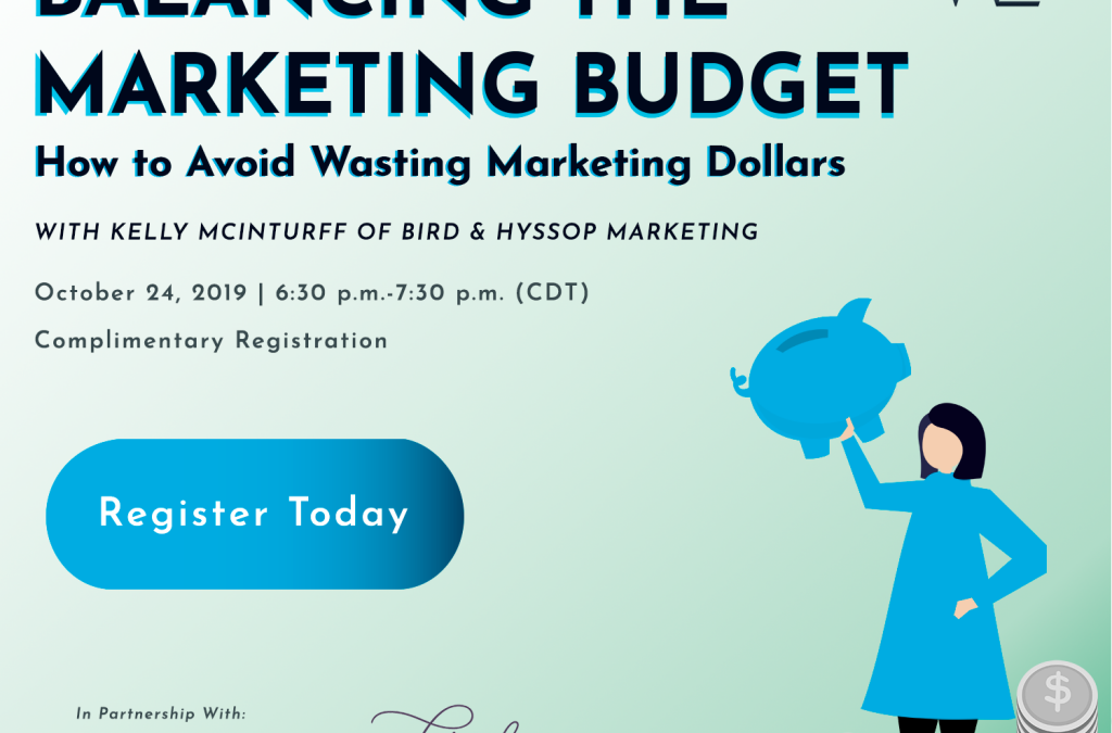 How to Not Waste Money on Marketing